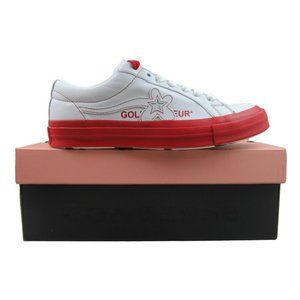 Converse x Golf Le Fleur One Star OX Red Size 9.5